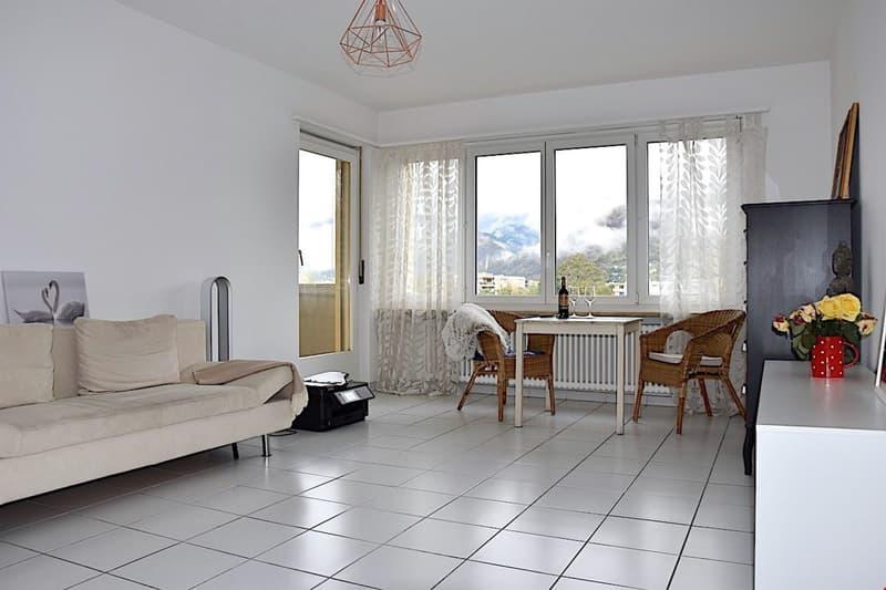 ASCONA - Gepflegte 2,5 Zi. Wohnung mit Terrasse - auch Zweitwohnsitz