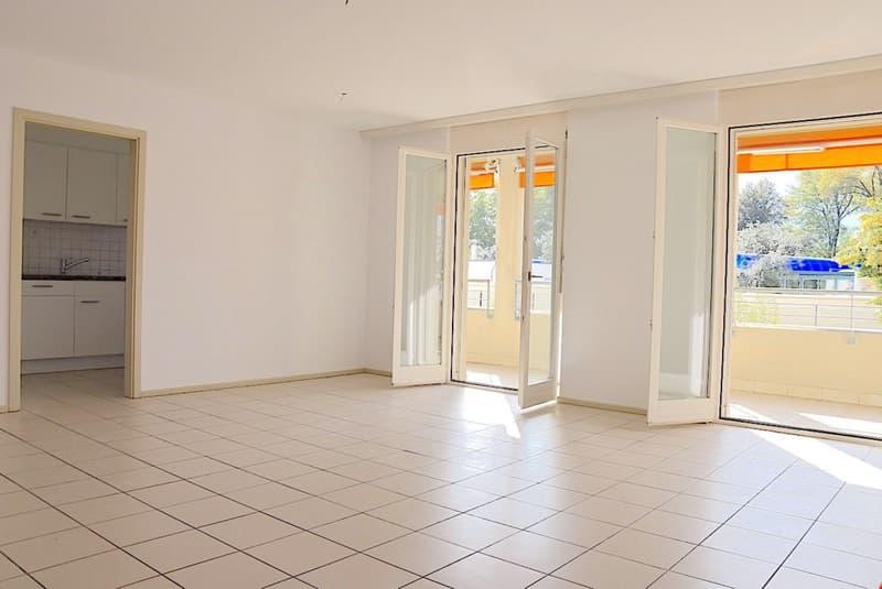 LOCARNO - Zentrale 3,5 Zi. Wohnung - 3,5 locali con terrazza
