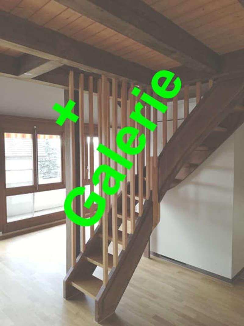 Dachwohnung mit Cheminée + Galerie