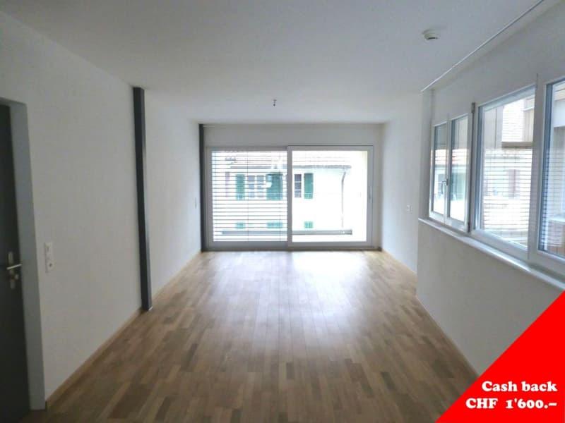 1 Monatsmiete geschenkt - 3.5-Zimmer-Wohnung mit grossem Balkon