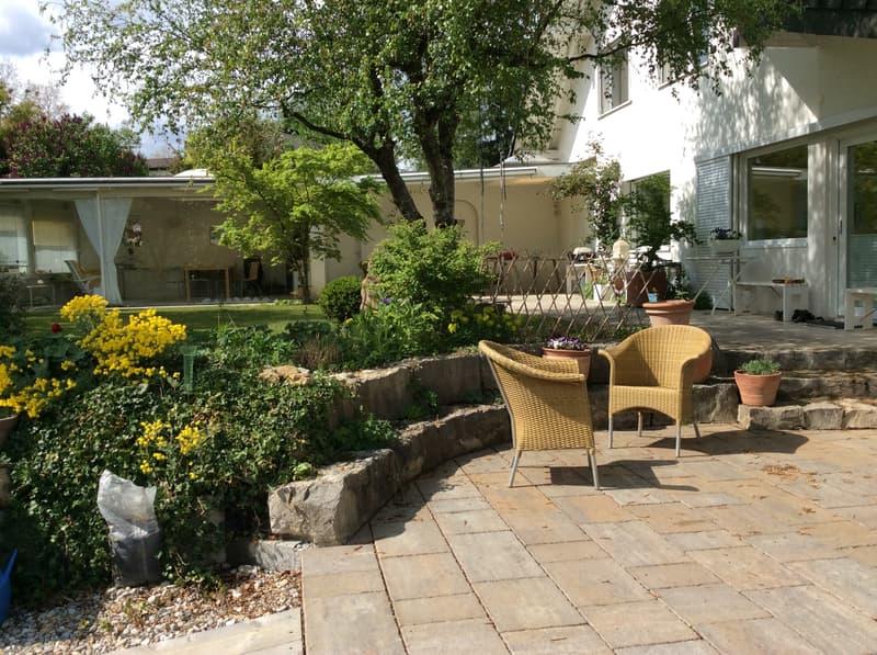 Attraktives Einfamilienhaus an bevorzugter Lage von Liestal mit Traumgarten und 100 % Privatsphäre