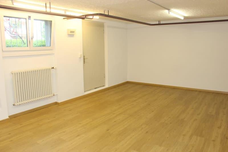 Renoviertes Gewerbelokal im Mattenbachquartier