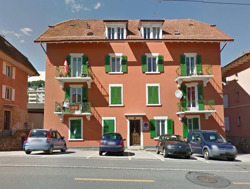 Appartement de 2 pièces avec place de parc extérieure