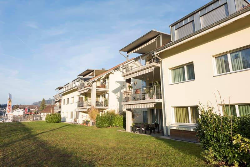 Grosse und helle Landwohnung an bester Lage im Dorfkern Oberdiessbach