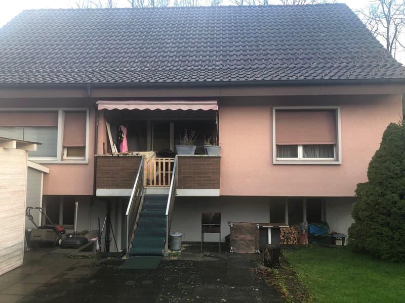 Einfamilienhaus mit Umschwung