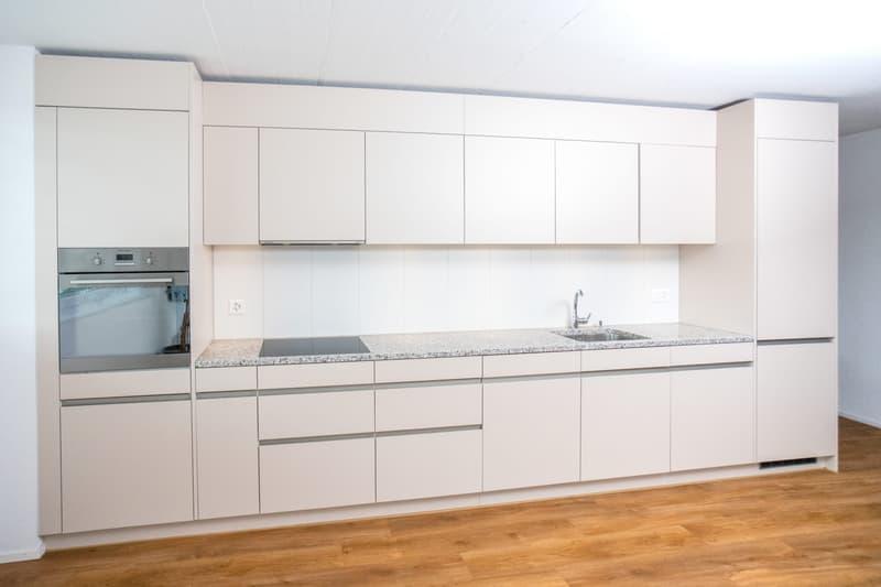 Küche Frontalansicht