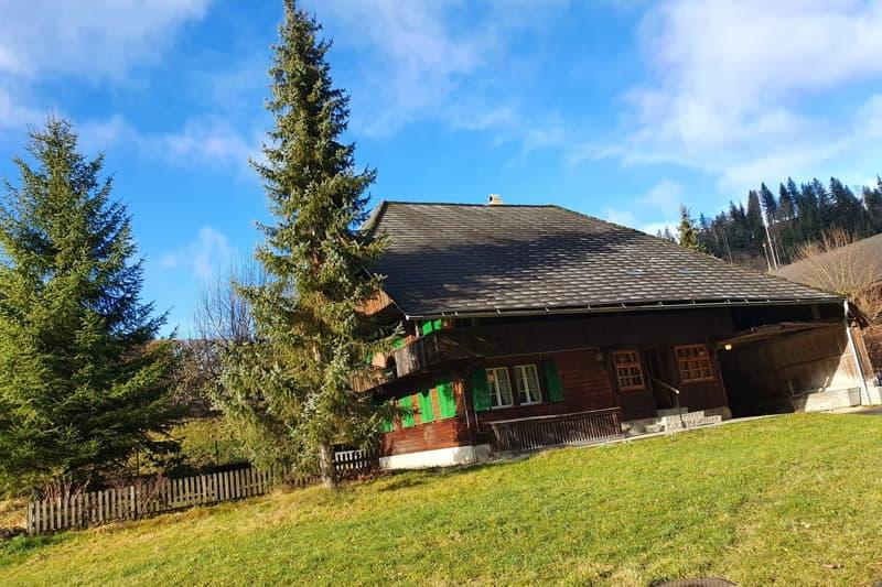Heimeliges Chalet-Haus im sonnigen Röthenbach im Emmental