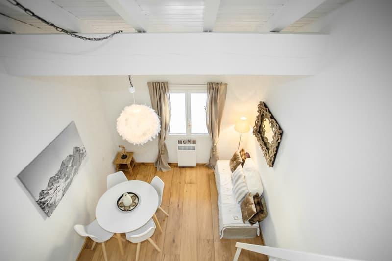 Stylische Maisonette-Wohnung mit schönem Holzboden (4)