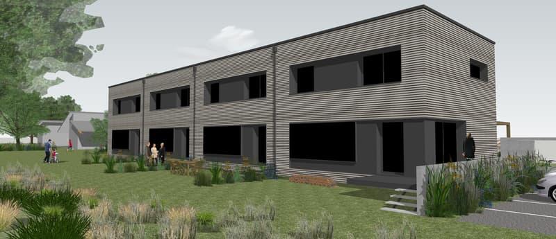 Nouvelle promotion 4 villas, superbe architecture en bois, minergie. Superb 4 new villas, Jan 2021