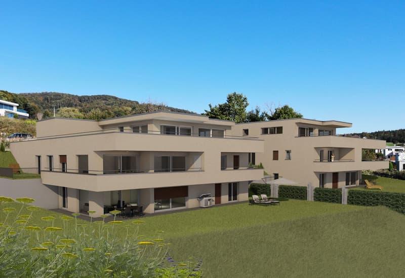 GEMINUS - Traumhafte Gartenwohnung an exklusiver Lage im Schwarzhaar Oftringen