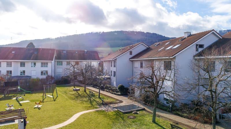 Attraktive 3.5 Zi-Wohnung im Naherholungsgebiet mit Gartensitzplatz