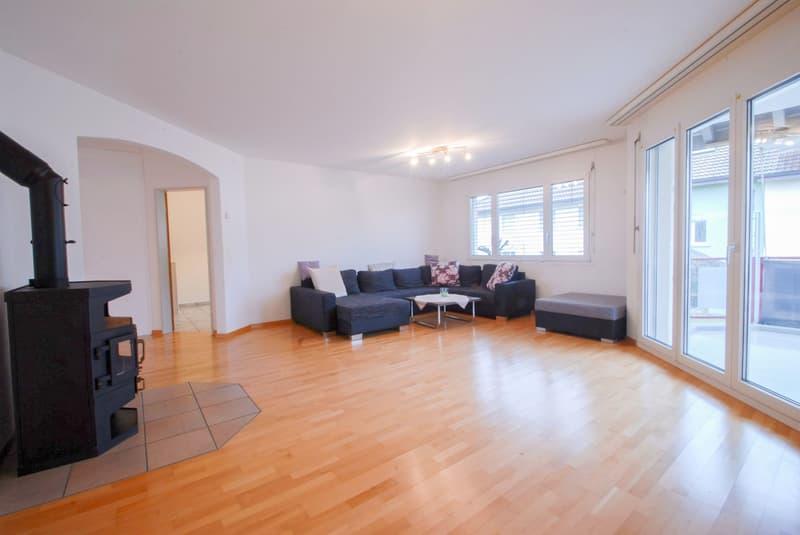 Ruhige Wohnung mit viel Platz