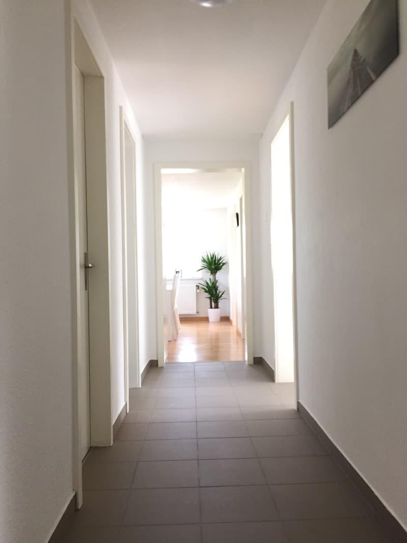 Schöne helle 4 1/2 Zimmerwohnung zu vermieten
