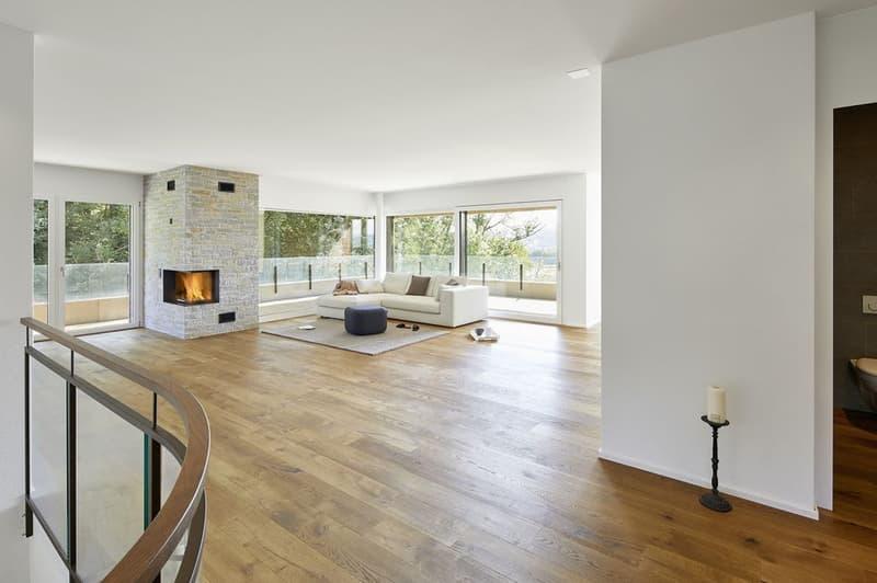Idyllisch Wohnen in Kaltbach - 5.5-Zimmer-Wohnung zu vermieten!
