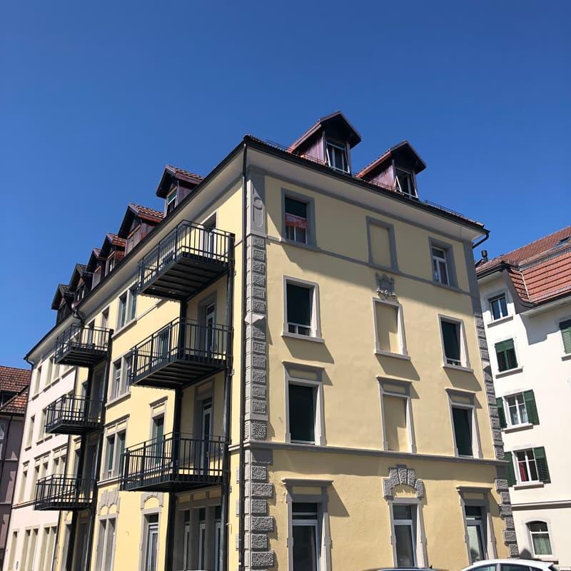 Heimelige Wohnung in ruhigem Quartier (1)