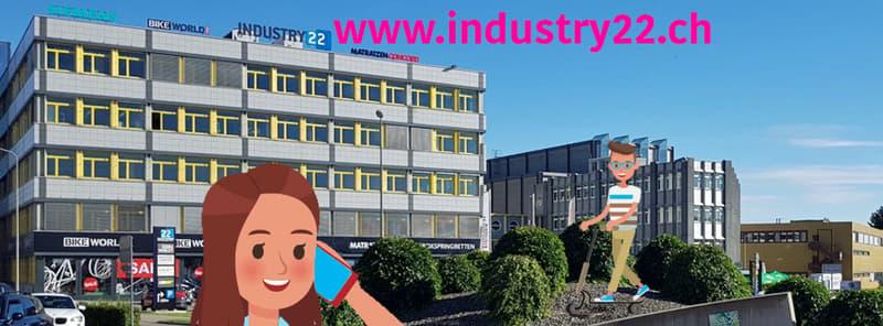 Visibilität und Zentralität: Ihre neue Businessfläche mit Industrie-Flair!