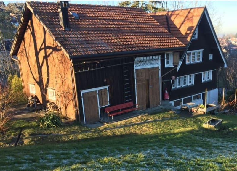 Traditionelles Appenzeller Haus an schöner Aussichtslage Lage in Heiden