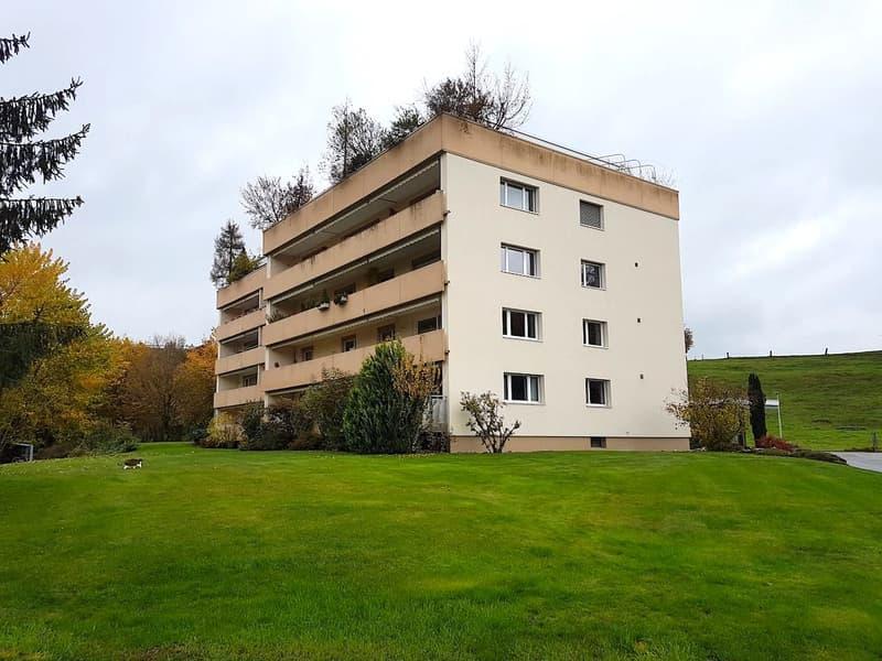 Ruhige 4.5-Zimmer-Wohnung mit Blick ins Grüne in Kirchberg BE