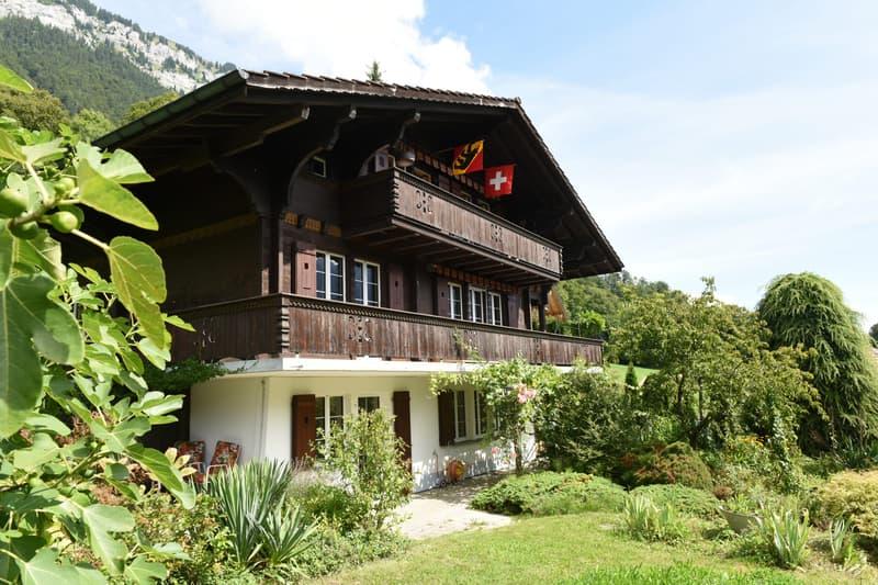 Toplage mit See- und Bergsicht - Charmantes Haus in Ringgenberg / BE