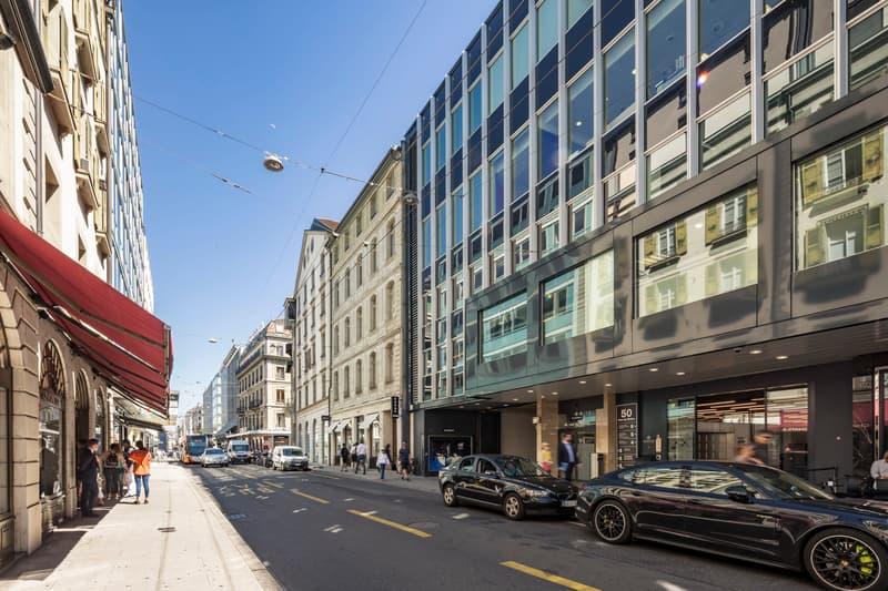 Bureaux de prestige, durée flexible, Rue du Rhône 50, Genève (1)