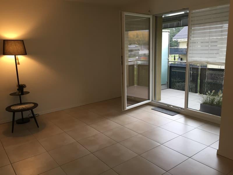 Appartement 2,5 pièces avec balcon