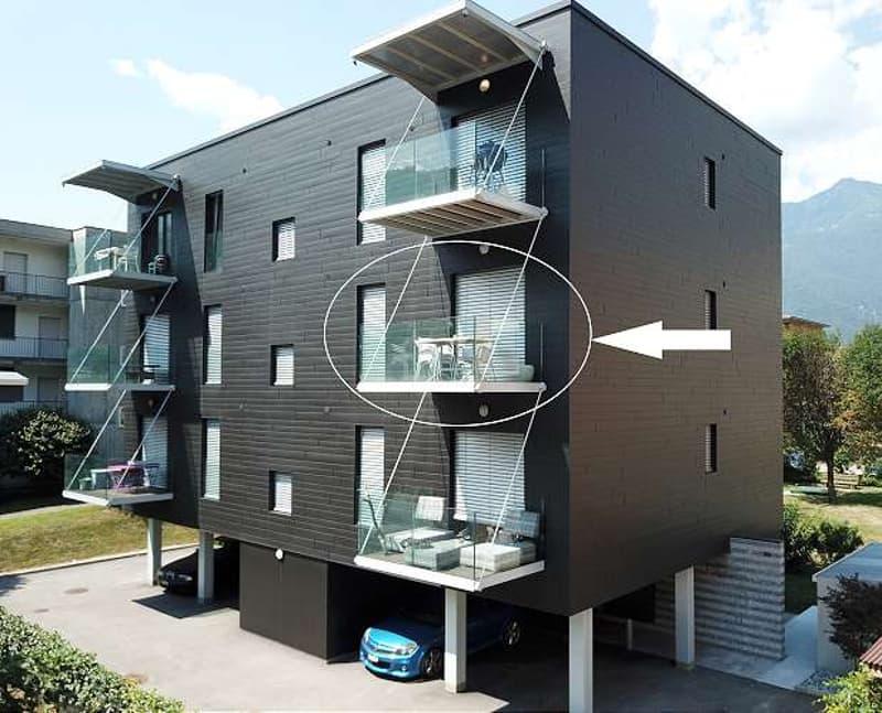 Contone, Moderno Appartamento di 3.5 locali in stabile Minergie (048-03)