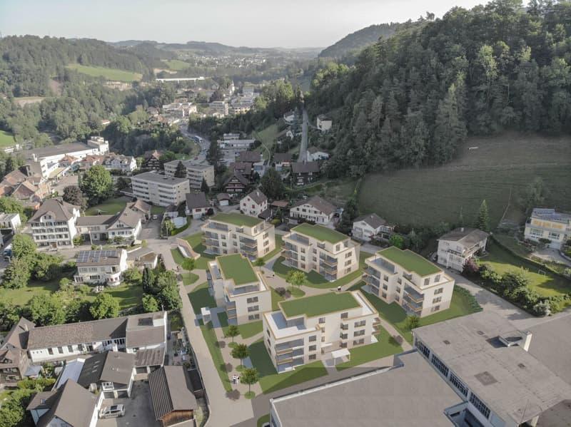 """Neubau: Wohnsiedlung """"Im Hof"""" / 2.5-Zimmer-Wohnungen"""