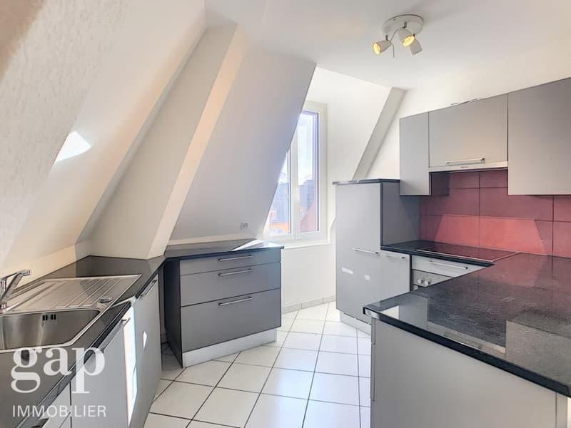 Appartement de 3.5 pièces en duplex au dernier étage d'un petit immeuble