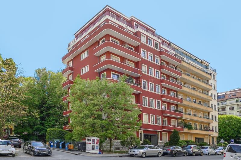 Malagnou, 4 rue John-Rehfous, 3 pièces au 4ème étage