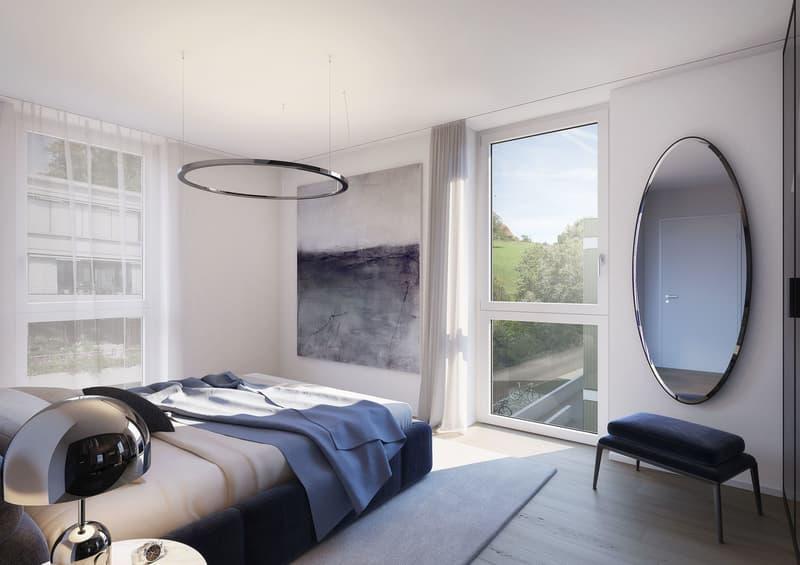 GRACE - Schöne 3.5-Zimmer Attikawohnung mit Sicht auf See und Berge (4)
