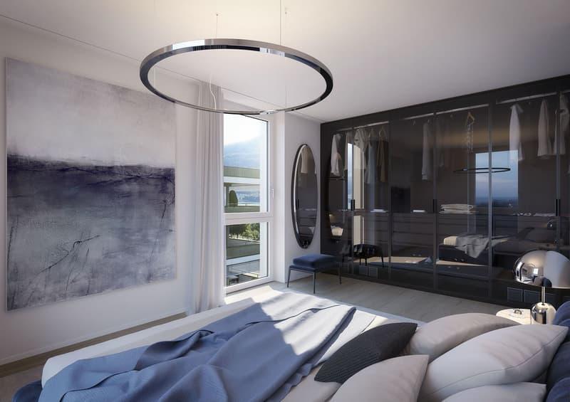 GRACE - Sonnige 2.5-Zimmerwohnung mit See- und Bergsicht (1)