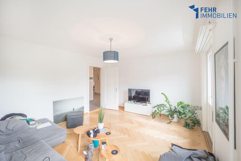 Fehr Immobilien - Einzigartige 4.5-Zimmer-Wohnung
