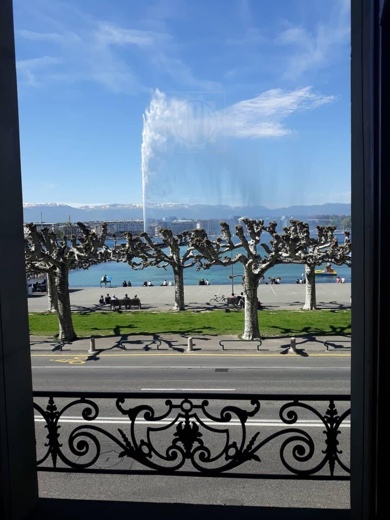 Luxurious office on Geneva's lakefront