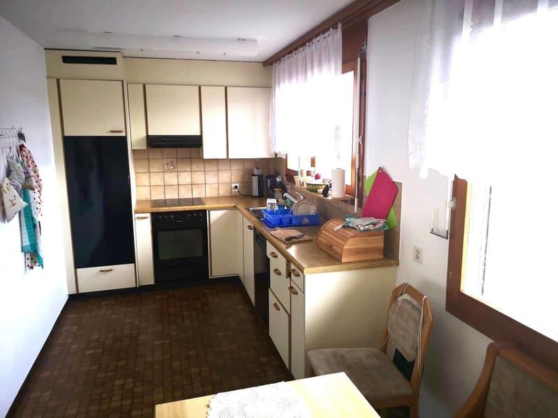 4.5 Zimmer-Wohnung - kostengünstig und naturnah