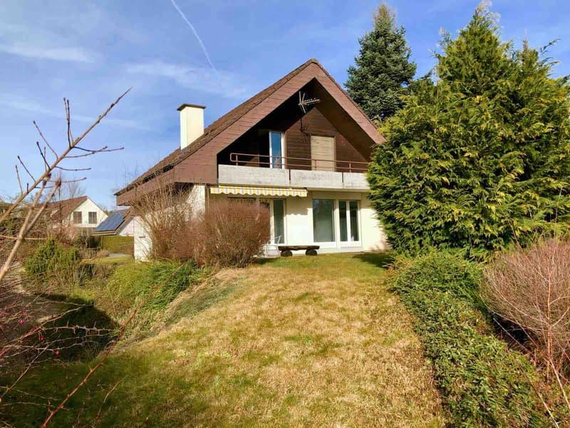 Haus mit 583m2 Gartenanlage