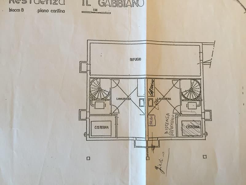 Planimetria locale cantina