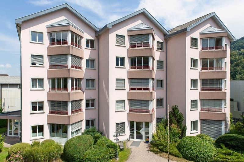 Grosse und helle Wohnung an attraktiver Lage