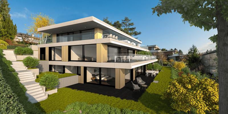 Luxuriöse 2.5-Zimmer-Wohnung an ruhiger und naturnaher Lage!