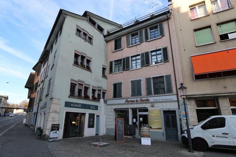 Bar, Café, Restaurant, Büro/Atelier in der Unterstadt zu vermieten