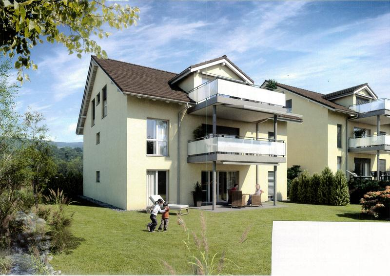 Moderne Wohnung im Eingentumsstandard