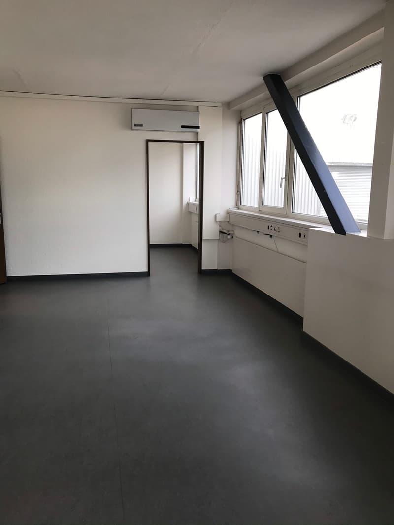 Büroräume im Industriegebiet