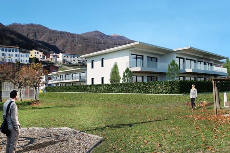 Moderno appartamento immerso nel verde