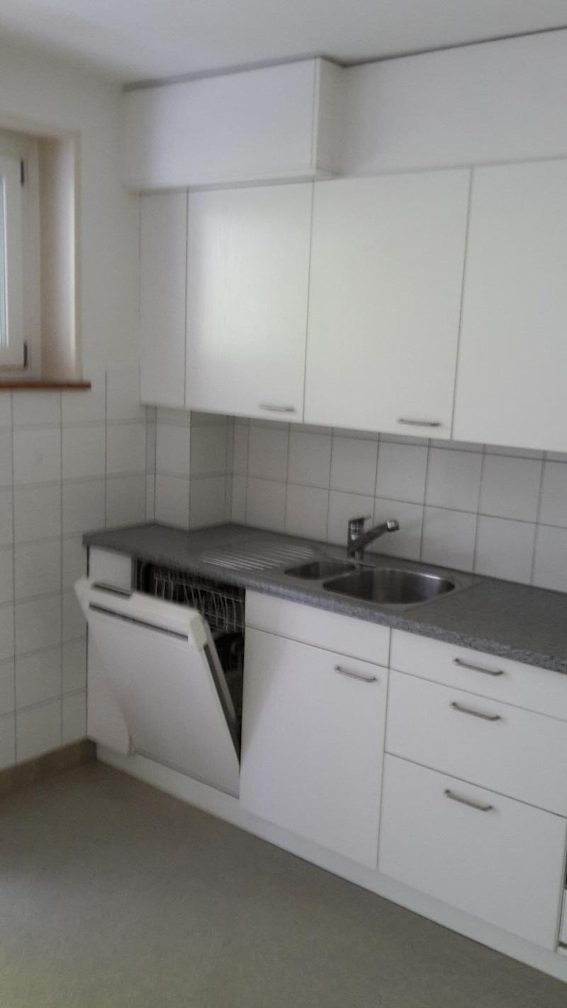 Attraktive 3-Zimmerwohnung mit grossem Balkon ins Grüne. (4)
