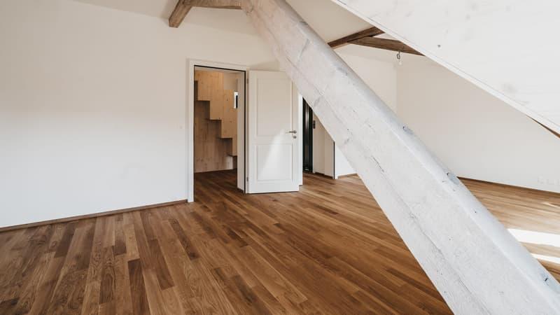 Erstvermietung von hochwertig sanierter Dachwohnung mit Galerie (4)