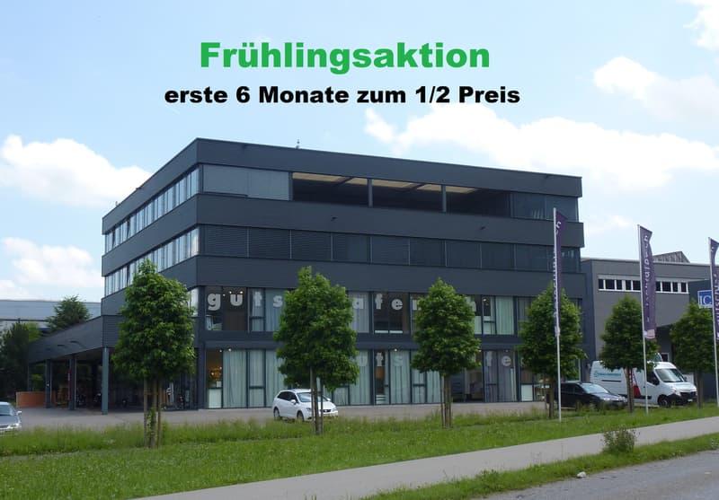 FRÜHLINGSAKTION - top Büroräumlichkeiten 50% Mietzinsreduktion erste 6 Monate