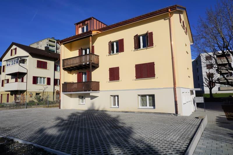 Grosszügige Wohnung an zentraler Lage in Uznach