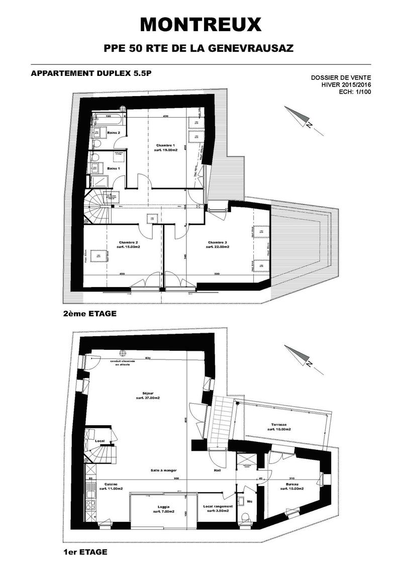 Petit immeuble locatif en PPE - Pour investisseurs