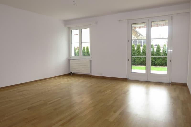 Schöne und preiswerte 3.5-Zimmer Erdgeschosswohnung