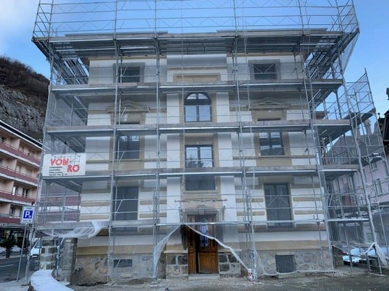 Immeuble Agaune 2,  appartements 3.5 pièces rénovés