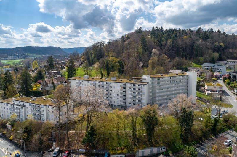 In unmittelbarer Nähe zur pädagogischen Fachhochschule Aarau!